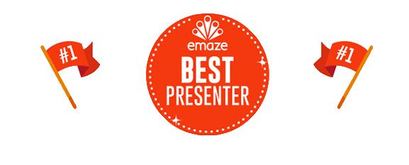 emaze helps improve your presentation skills