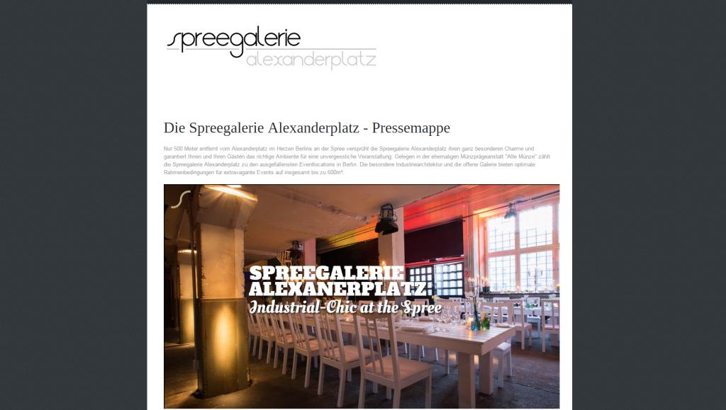 Spreegalerie Alexanderplatz