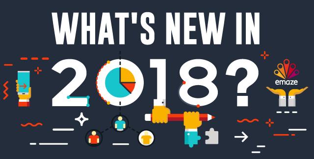 Actualizações Emaze e Novos Recursos no 2018