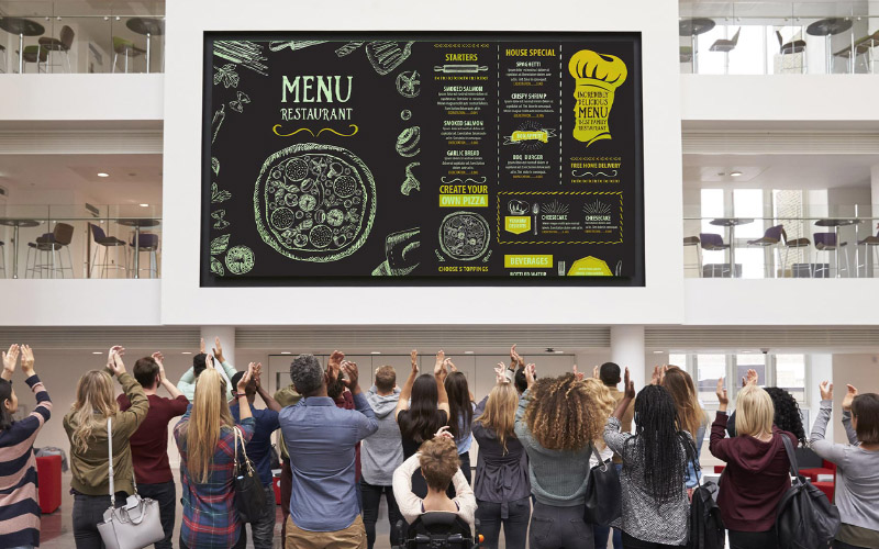 Design the Best Digital Menu